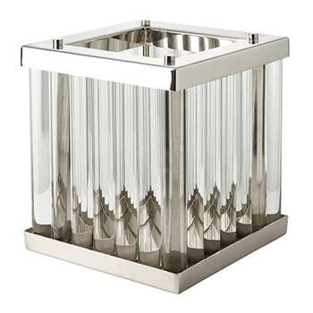 Eltham Hurricane Lamp - Clear (27 x 25cm)