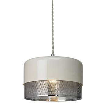 Emilio Small Pendant Light Shade Polished Chrome