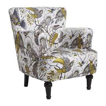 Emma J Shipley - Aubudon Dalston Armchair - Gold (H81 x W91 x D84cm)