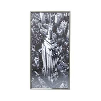 Empire state art (H166 x W86 x D4.8cm)