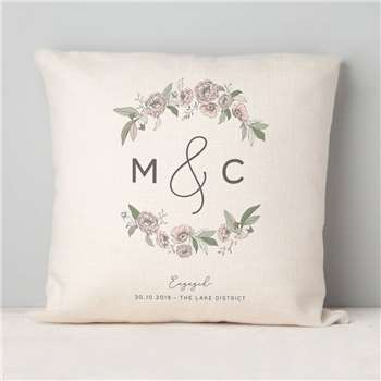 Engagement Gift Vintage Cushion (H40 x W40cm)