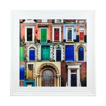 English Doorways Liquid Art (H60 x W60cm)