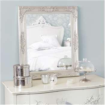 ENZO silver mirror H 74 cm