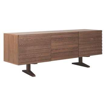 Enzo Walnut-stained sideboard (Width 180cm)