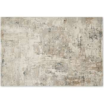Epicoco Luxury Viscose Rug, Large, Antique Gold (H160 x W230cm)