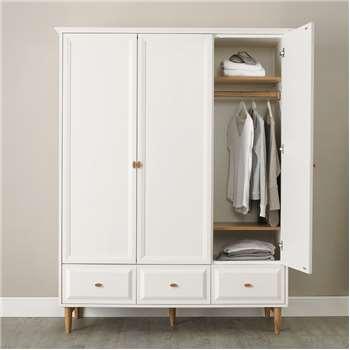 Ercol Devon Large Wardrobe (H198 x W155 x D63cm)