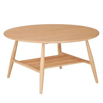 ercol for John Lewis Shalstone Coffee Table (H42 x W80cm)