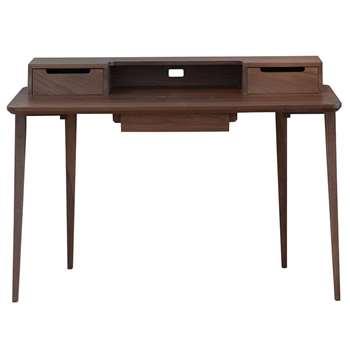 ercol - Treviso Desk - Walnut (H86 x W122 x D59cm)