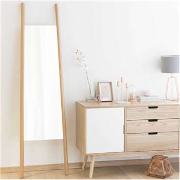 ERIKSEN wooden mirror (Height 180cm)