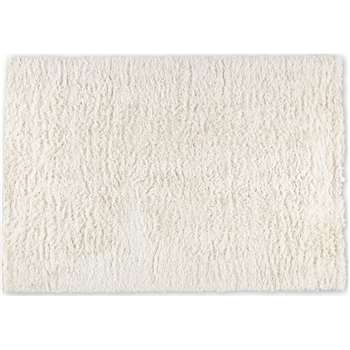Erin Deep Pile Rug, Small, Off White (H120 x W170cm)