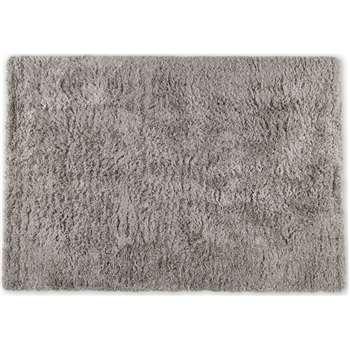 Erin Deep Pile Rug, Warm Grey (H160 x W230cm)