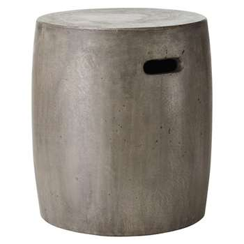EROS - Concrete Outdoor Stool (H46 x W42 x D42cm)