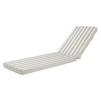 ESCALE Striped Sun Lounger Cushion (H7 x W58 x D196cm)