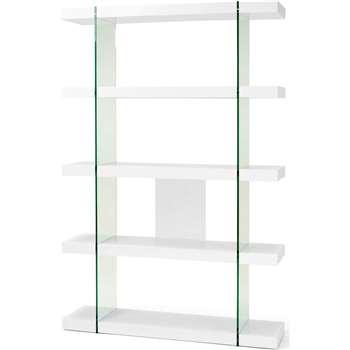 Esco Shelving Unit, White (180 x 120cm)