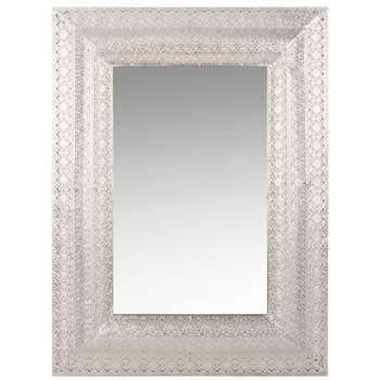 ESMARA Metal Mirror with Motifs (H79 x W59 x D4cm)