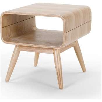 Esme Side Table, Ash (45 x 42cm)