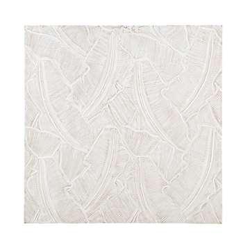 ESPERANZA White Carved Panel (110 x 110cm)