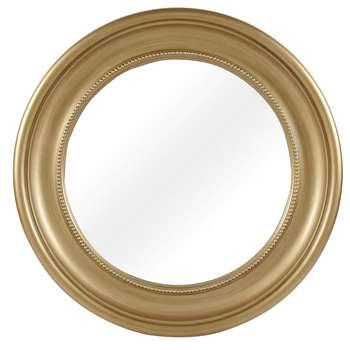 Estelle Champagne Large Round Mirror (Diameter 105cm)