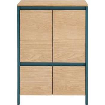 Ethan hallway cabinet, Oak (117 x 80cm)