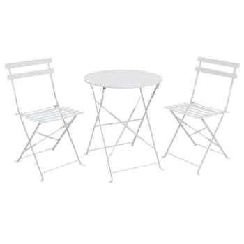 Eve Bistro Set - White