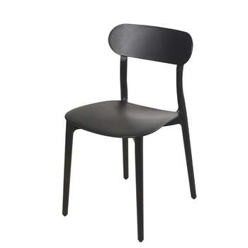 EVE Black Chair (H79 x W42 x D52cm)
