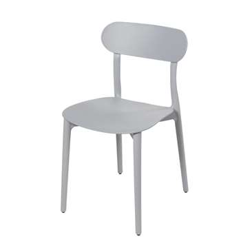 EVE Grey Chair (H79 x W42 x D52cm)