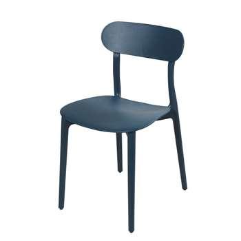 EVE Petrol Blue Chair (H79 x W42 x D52cm)
