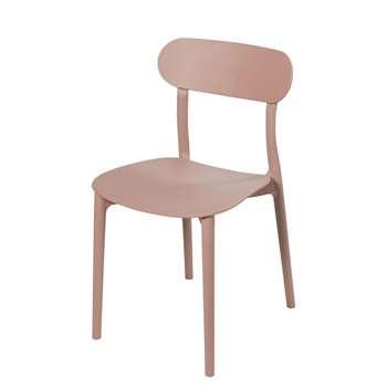 EVE - Pinky Beige Chair (H79 x W42 x D52cm)