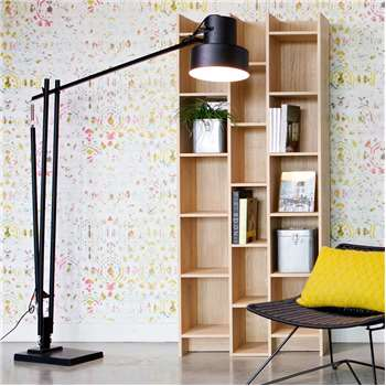 Expand Cabinet & Bookshelf in Oak Veneer 200 x 80cm
