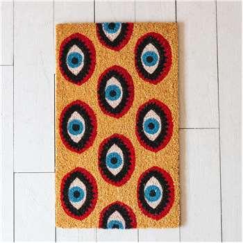 Eye Print Doormat (H45 x W75cm)
