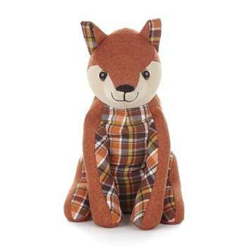 Fabric Fox Doorstop (25 x 17cm)