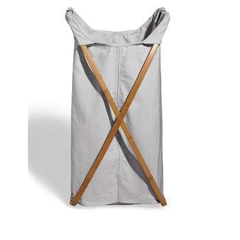 Fabric Laundry Bin - Grey