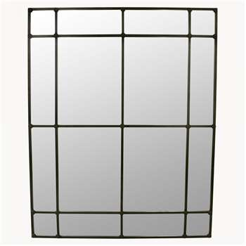 Fairfield Architectural Window Mirror (H200 x W160 x D4cm)
