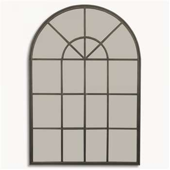 Fairfield Industrial Arched Mirror (179 x 84cm)