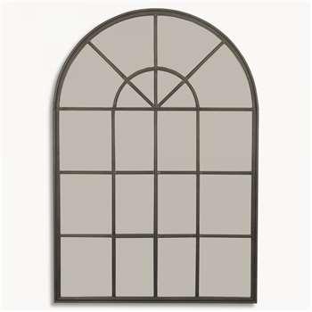 Fairfield Industrial Arched Mirror (179 x 84cm)
