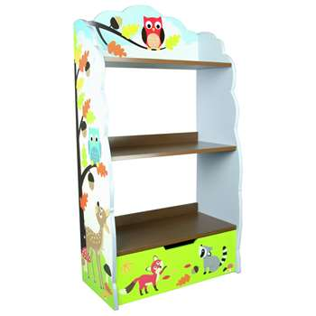 Fantasy Fields Enchanted Woodland Kids Book Shelf at Argos (H106.05 x W58.42 x D27.31cm)