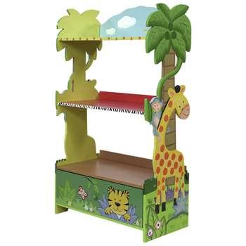 Fantasy Fields Sunny Safari Kids Book Shelf (H96.52 x W55.63 x D29.21cm)