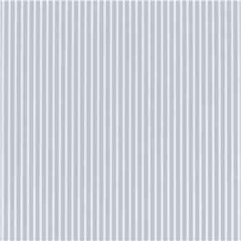 Farnworth Stripe Chalk Blue Wallpaper