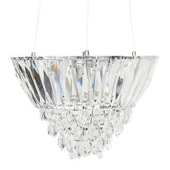 Farthingate Faceted Crystal Chandelier (40 x 55cm)
