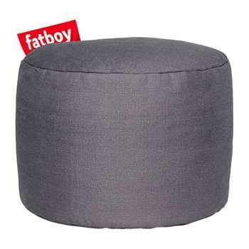Fatboy - The Point Stonewashed Pouf - Dark Grey (H35 x W50 x D50cm)