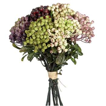 Faux Berry Bunch - Multi (Height 31cm)