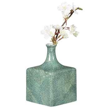 Faux Shagreen Diffuser - Jade (15 x 10cm)