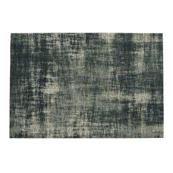 FEEL AZUR blue cotton rug (155 x 230cm)