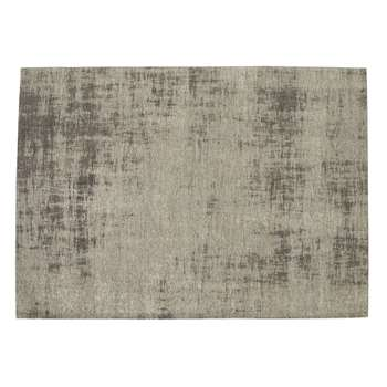 FEEL cotton rug in grey (155 x 230cm)