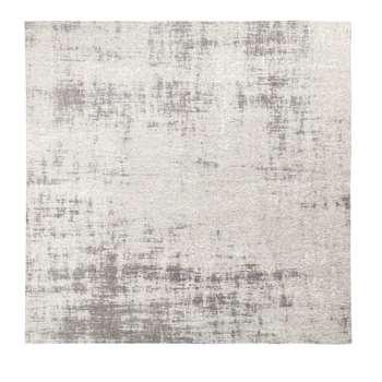 FEEL - Grey Woven Jacquard Rug (H200 x W200 x D2cm)