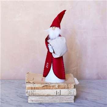 Felt Santa Tree Topper (Height 25cm)