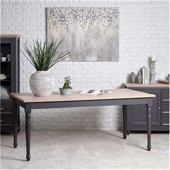 Fenin Dining Table (H77 x W180 x D100cm)