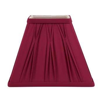 Fenn Square Cranberry Shade 7.5 Inch (17.5 x 25.3cm)