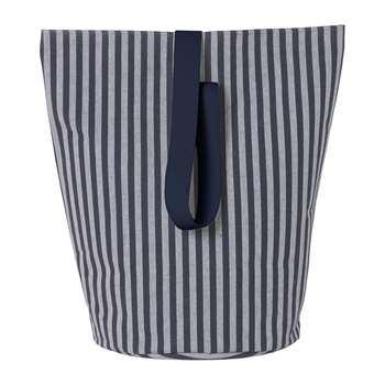 Ferm Living - Chambray Basket - Large - Striped (H62 x W40 x D40cm)