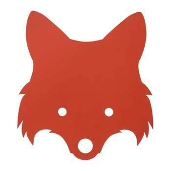 Ferm Living - Fox Wall Lamp - Red Orange (H30 x W22.5cm)